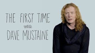 The First Time with Dave Mustaine | Rolling Stone