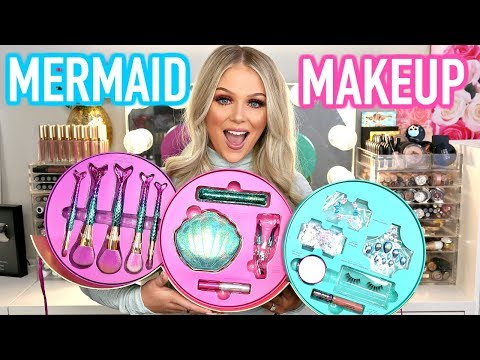 NEW TARTE MERMAID MAKEUP COLLECTION   FULL FACE FIRST IMPRESSIONS
