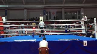 Türkiye Kickboks Şampiyonası Samsun 60 kg