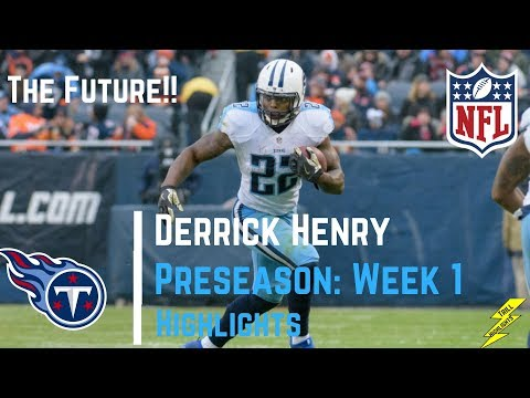 Derrick Henry Full Preseason Week 1 Highlights | 8/12/2017