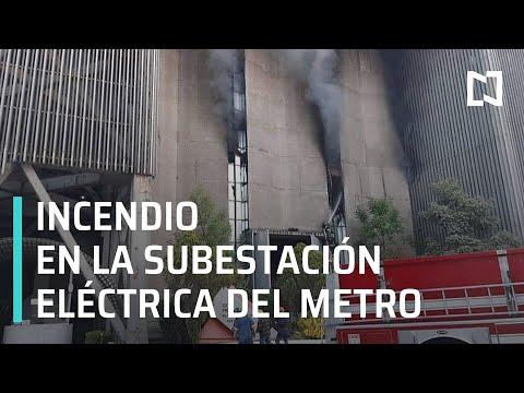 Incendio en el Metro de la CDMX