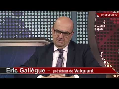 """Eric Galiègue sur le plateau de """"Le Revenu TV"""""""