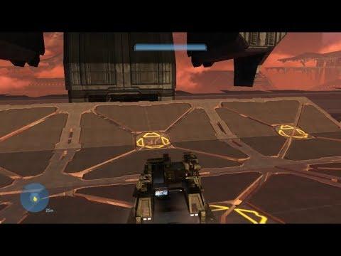 Halo 3  Mini Elephant Run  Campaign Mods Trench Run Fun