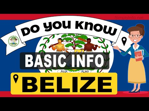 Do You Know Belize Basic Information   World Countries Information #18 - General Knowledge & Quizzes
