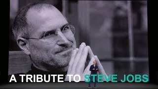 A tribute to Steve Jobs by Tim Cook