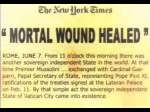 Babylon is fallen - antichrist papacy rules for 1260 years, receives wound that heals