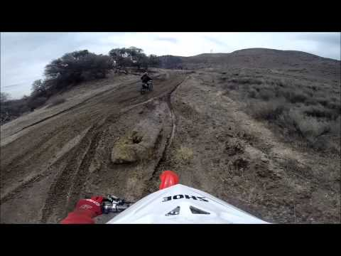 Riding at Hungry Valley OHV after the rains 3.4.2014