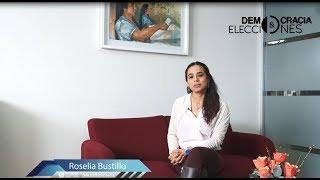 """Roselia Bustillo """"Participación política de los pueblos indígenas"""""""