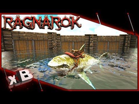 MEGA MEGALODON TAME & WATER PEN! :: ARK: Ragnarok Evolved :: Ep 47