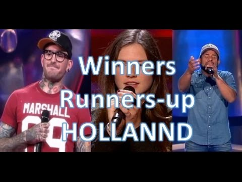 All WINNERS and RUNNERS-UP Blind Auditions | Season 1-6 | The Voice of Holland