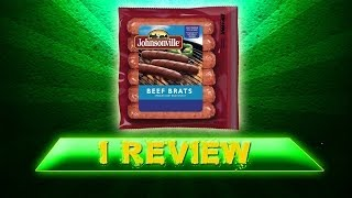 I Review Johnsonville Beef Brats