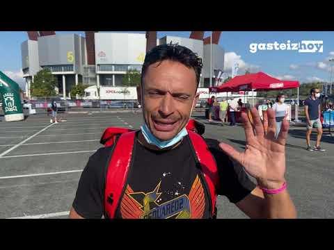 El ambiente del Ironman se hace notar en Vitoria