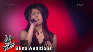 Εβελίνα Πυλαρά - Believer | 6o Blind Audition | The Voice of Greece