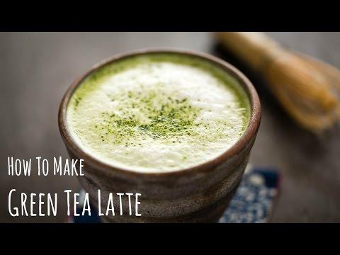 How to Make Green Tea Latte (Recipe) 抹茶ラテの作り方(レシピ)