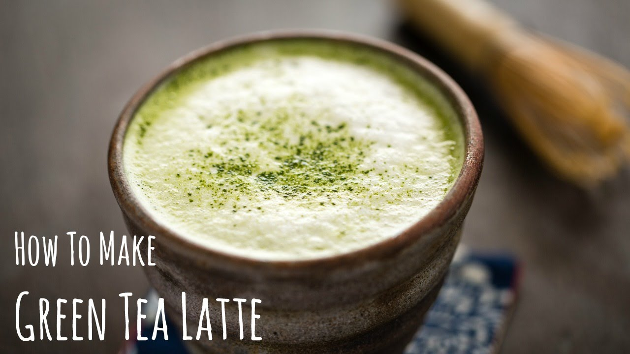 How To Make Matcha Latte (green Tea Recipe) 抹茶ラテの作り方(レシピ)  Youtube