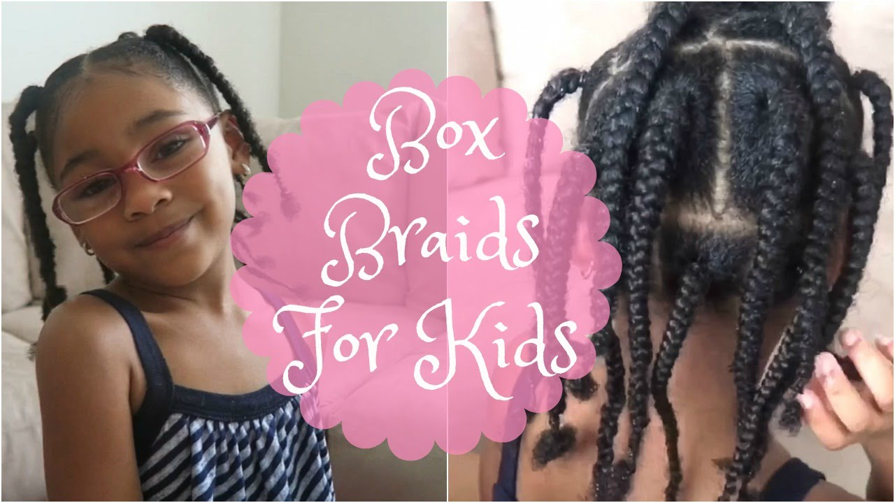 box braids for kids: natural hair | shelbyville - youtube