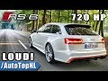Download LOUDEST! AUDI RS6 C7 in the WORLD - REVS ONBOARD & EXHAUST SOUND by AutoTopNL