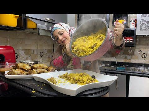 عزومه النهارده مختلفه في كل حاجه لانها بين جمعت بين دولتين - أسرار المطبخ مع سمر