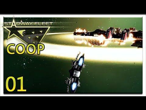 Zusammen im Weltall | COOP #1 | Let's Play Starway Fleet | [HD] | Deutsch Cigar0