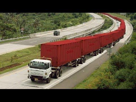 Longest Truck In The World Must Watch || दुनिया के सबसे लंबे ट्रक
