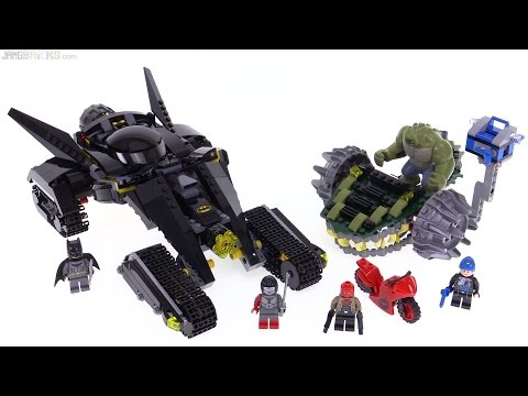 LEGO Batman - Killer Croc Sewer Smash review! 76055