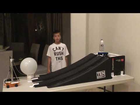 Rube Goldberg simple machines project