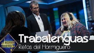 Esty Quesada averigua a la primera el trabalenguas de Nuria Roca - El Hormiguero 3.0