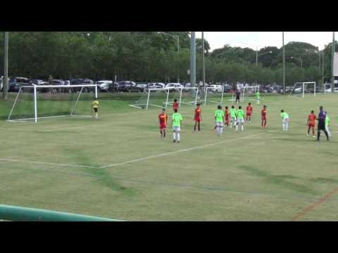 Hispania U13 vs GPS Guaynabo - 1er Tiempo - Copa Bayamon 2016