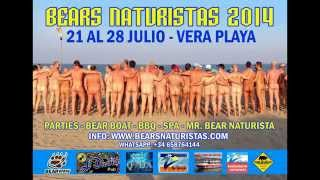 4º BEARS NATURISTAS VERA PLAYA 2014