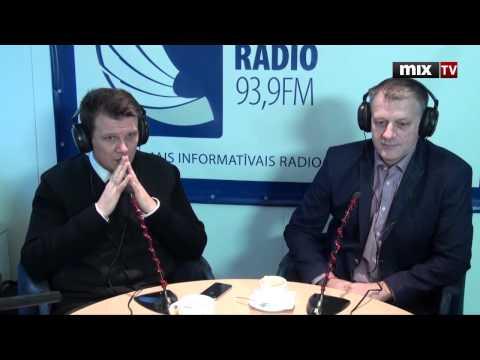 """MIX TV: """"Итоговый марафон"""": Олаф Пулкс, Максим Егоров на радио Baltkom"""