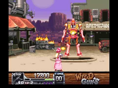 SNES Longplay [243] Wild Guns (a) - YouTube