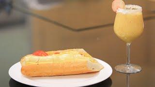 ساندويتش جبنة محشية لانشون - عصير جوز الهند | سندوتش وحاجة ساقعة حلقة كاملة