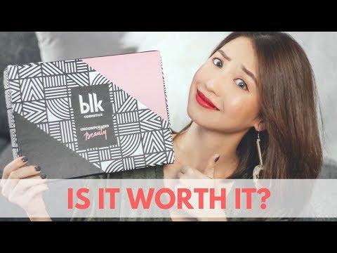 BLK Cosmetics First Impressions  Kryz Uy