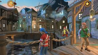 Review Pirate Adventure Game on Android - Captain Sabertooth