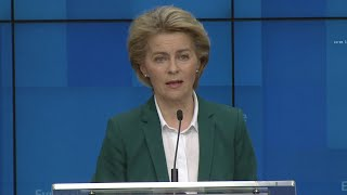 video: European Commission set to approve 30-day EU travel ban to fight coronavirus