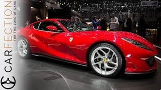 Ferrari 812 Superfast: V12, Silly Power, New Look - Carfection