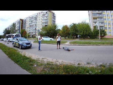 Сбили пешехода на Маяковского г. Ковров на пешеходном переходе