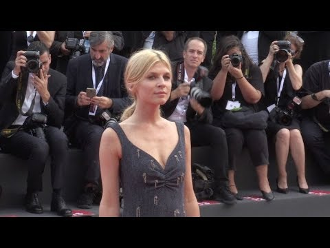 Clemence Poesy and more on the red carpet for the Premiere of First Man at the Venice Film Festival