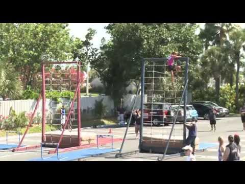 Obstacle Course – Lane 1 – 2012 Tri-Fitness World Challenge