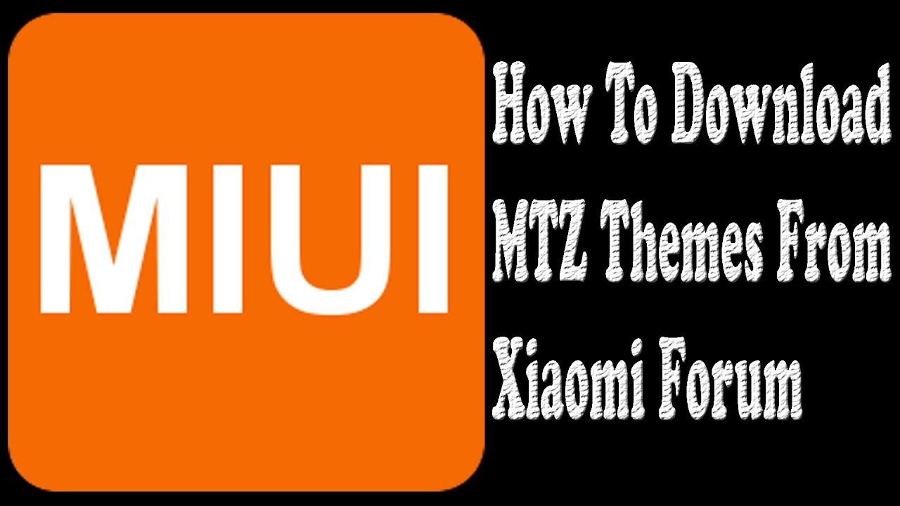 How to Download Paid Mtz Themes From Xiaomi Forum