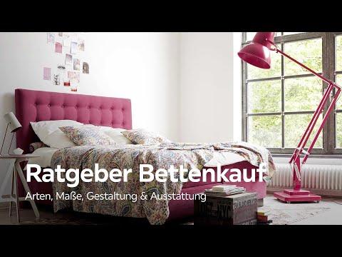 Das richtige Bett finden - Bettkauf Ratgeber - XXXLutz Schlafzimmer Beratung