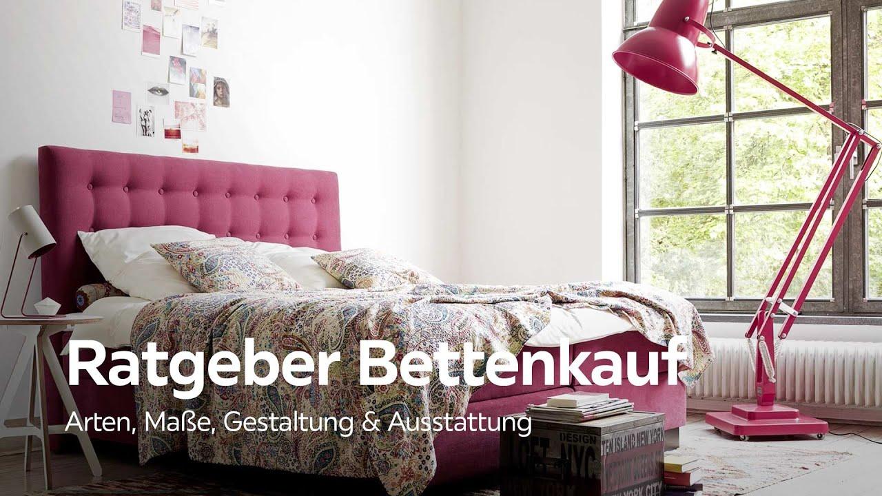 das richtige bett finden bettkauf ratgeber xxxlutz schlafzimmer beratung youtube. Black Bedroom Furniture Sets. Home Design Ideas