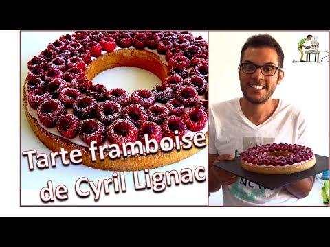 recette-tarte-aux-framboises-de-cyril-lignac-/-raspberry-pie