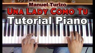 Una Lady Como T Tutorial Piano Partitura Sheet Music - Manuel Turizo George Vidal.mp3