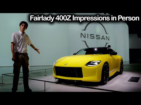 400Z Fairlady Z Prototype Impressions Live in Japan | It's really Beautiful in Person! | JDM Masters