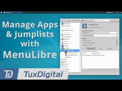Manage Your Apps & Jumplists on GTK-based Linux Distros with MenuLibre