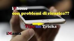 iphone 7,6,6s,5s,5 plus non carica ecco cosa fare prima di andare in assistenza iMania