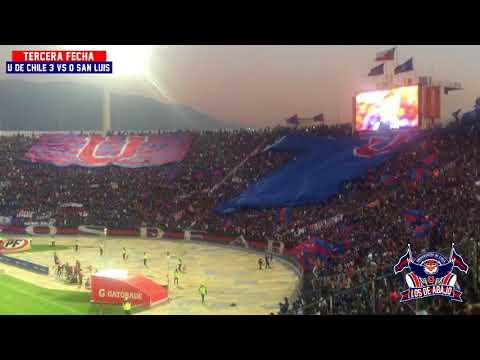 LOS DE ABAJO - U DE CHILE 3 vs SAN LUIS 0 (16/02/2018)