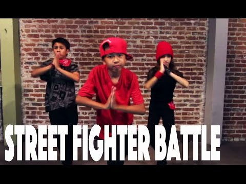 STREET FIGHTER Dance Battle   Directed by @MattSteffanina -- Epic Dance Battles (Hip Hop)