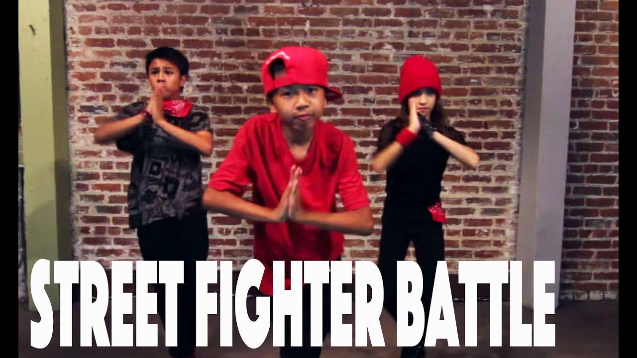 STREET FIGHTER Dance Battle | Directed by @MattSteffanina -- Epic Dance Battles (Hip Hop)